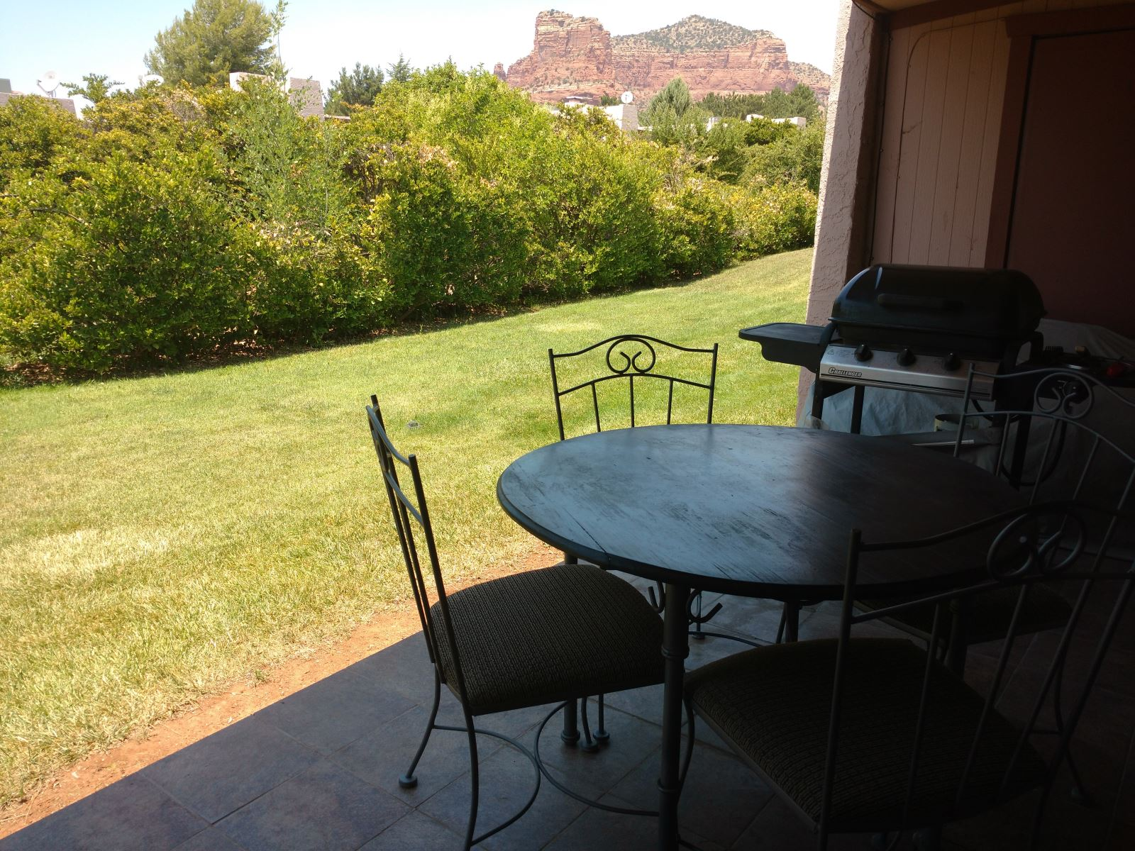 Back Patio - On the golf course